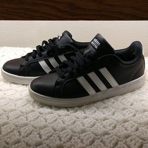 Adidas Leather Shoes Size 8